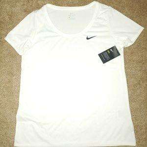 NEW Women's Nike Dri Fit Training Shirt Reg Fit